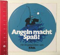 Aufkleber/Sticker: Angeln Macht Spaß Mit Angelgeräten Von FAK (290516147)