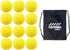 Martin Sports Lacrosse Balls (12-Balls) Yellow Ncaa/Nfhs/Sei/Nocsae Certified
