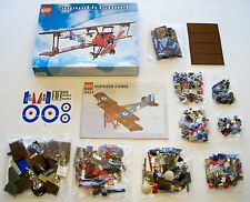 LEGO Sculptures Airplane - Rare Original - Sopwith Camel 3451 - New (Open Box)
