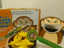 Lakeshore Feed the Monkey Fine Motor Skills Game Ages 3 & Up Preschool