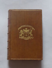 POETICAL WORKS OF MATTHEW ARNOLD : Poetry / Poems / Full Leather Binding / 1892