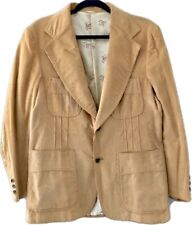 Vintage Levi's Panatela Mens Corduroy Blazer Jacket Size 43