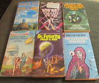 6 book lot philip k. dick now wait for last year clans ganymede eyeinthesky pb's