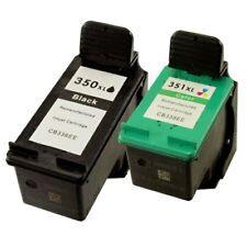 HP 350XL+HP 351XL Refilled Ink Cart HP Deskjet D4200 D4260 D4263 D4360