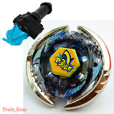 THERMAL PISCES BB-57 BEYBLADE Masters Fusion Metal+GRIP+BLUE SPIN LAUNCHER