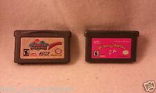 4pc Set 2 Gameboy Advance Video Games SpongeBob SuperSponge Barbie Groovy Games