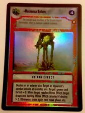 Star Wars CCG Reflections I VRF Very Rare Foil Mechanical Failure