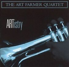 ARTistry by Art Farmer Quartet (2CD's, 2001, Concord Jazz) VERY GOOD / FREE S&H