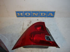 2001 Honda Civic 2dr LX left driver rear taillight tail light lamp brake coupe