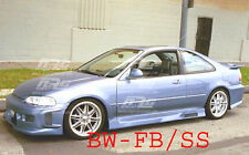 Civic 92-95 2/4 door Honda BW style Poly Fiber full body kit bumper kit