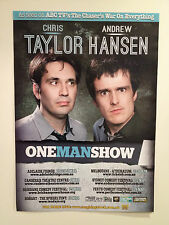 CHRIS TAYLOR ANDREW HANSEN One Man Show 2014 Tour Poster THE CHASER CNNNN A2 NEW