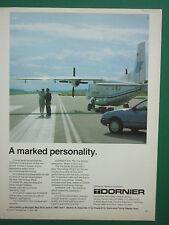 5/1985 PUB DORNIER 228 AIRCRAFT FLUGZEUG LE BOURGET AIR BOTSWANA AD