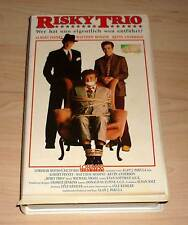 VHS - Risky Trio - Komödie 1987 - Videofilm - Videokassette