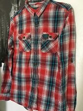 mens superdry shirt size medium