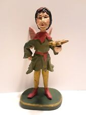 """House of Hatten Male Fairy with Sunflower Figurine 7 1/4"""" Vintage 1997"""