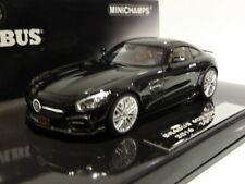 New Minichamps 1:43 Brabus Mercedes 600 AMG GTS 2016 Black 437032520 ltd 500 pcs