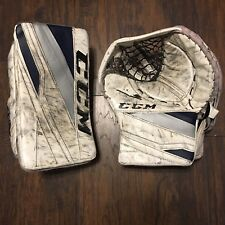 Mitch Gillam CCM Extreme Flex III Pro Stock ECHL Goalie Glove/Blocker Set