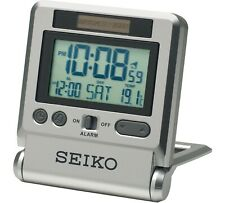 LCD Travel Alarm Clock 224965955 Unknown 4517228827143 by Seiko
