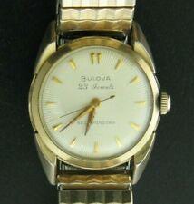 Vintage 1958 Bulova 23 Jewels Self-Winding Watch w/ Original Box -Beautiful Dial