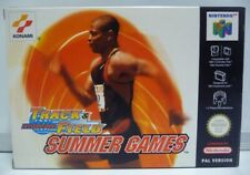 INTERNATIONAL TRACK & FIELD SUMMER GAMES NINTENDO 64 NUS-N3HP-EUR  PAL N64 NEW