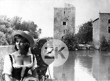 CLAUDIA CARDINALE de Broca CITE de La COUVERTOIRADE Caméra Tournage Photo 1962