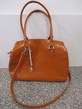 L. CREDI hochwertige Business - Tasche / Handtasche in Braun, echtes Leder, NEU