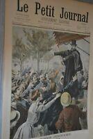 Le Petit Journal Supplémént illustré / 9 octobre 1898 / La réunion Deroulède