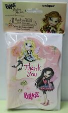 BRATZ THANK YOU CARDS Notes Girls Birthday Party Child Fashion Pixiez Dolls NEW