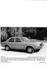 """Vauxhall victor 2300 sl press photo 1973 pour 1974 """"brochure connexes"""""""