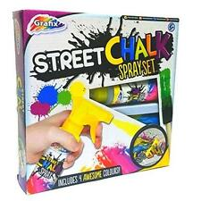 Grafix Street Chalk Spray Set Graffiti Art - Christmas Stocking Filler Gift