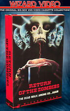 Jose Luis Merino's Return Of The Zombies - VHS BIG BOX - Wizard Video 1973