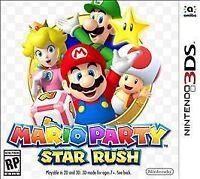 Mario Party: Star Rush Nintendo 3DS Game