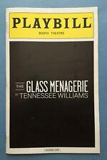THE GLASS MENAGERIE Playbill + Cherry Jones + Zach Quinto + Celia Keenan-Bolger