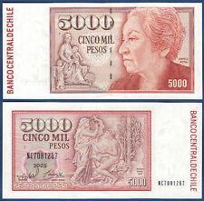 CHILE  5000 Pesos 2005  UNC  P. 155 e
