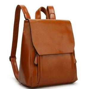 2021 womens real Leather messenger bag School travel book backpack shoulder Bag