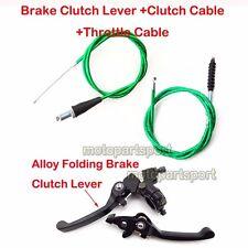 Green Clutch Cable Brake Lever For CRF50 SSR KLX 110cc 125cc 150cc Dirt Pit Bike