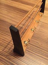 50er 60er Jahre Design Garderobe Hutablage Holz Coat Rack 50s Wood