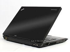 3D CARBON FIBER Vinyl Lid Skin Cover Decal fit IBM Lenovo Thinkpad T400 Laptop
