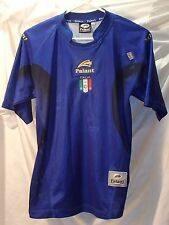 Italia Blue Italy Soccer Jersey Mario Balotelli National Team Logo Youth Size XL