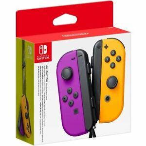 Nintendo Nintendo Switch Joy-Con Pair Neon Purple / Neon Orange