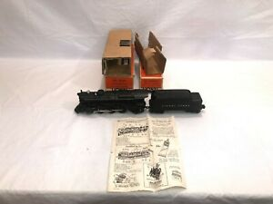 Lionel No. 2025 Steam Locomotive and 2466WX Whistle Tender  Boxed  OB  Postwar