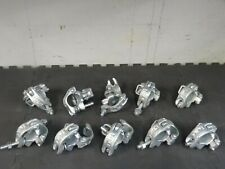 Lot of 10 Scaffolding Galvanized Right Angle Clamps