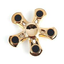 Gold Fidget Hand Spinner Metal Finger Focus Toy EDC ADHD Autism stress relief