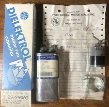 Vintage Dielektrol Motor Run Capacitor z97f9003 370VAC 60Hz General Electric NOS