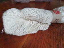 Mulberry Silk & Merino Wool Blended Yarn (2.5/1 Nm) – 100g dye yarn