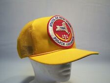 Vintage Supercap 86' State Of NY Police Olympics Trucker Hat Men's One Size