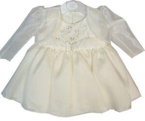 Baby Christening Dress Girl Butterfly 2 Piece Dress