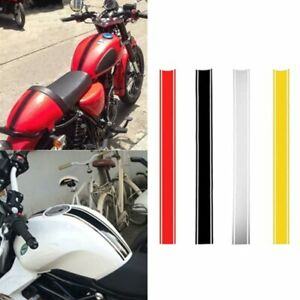 DIY Striped Fuel Tank Stickers Waterproof Motorcycle Accessories Auto Decoration