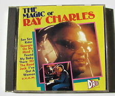 RAY CHARLES . THE MAGIC OF RAY CHARLES . CD