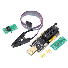 CH341A BURNER CHIP USB PROGRAMMER WRITER SOP CLIP ADAPTER EEPROM BIOS FLASH UK